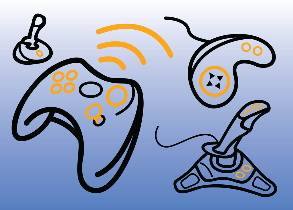 Games Console Clipart images.