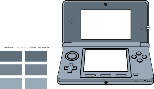 Handheld games clipart.