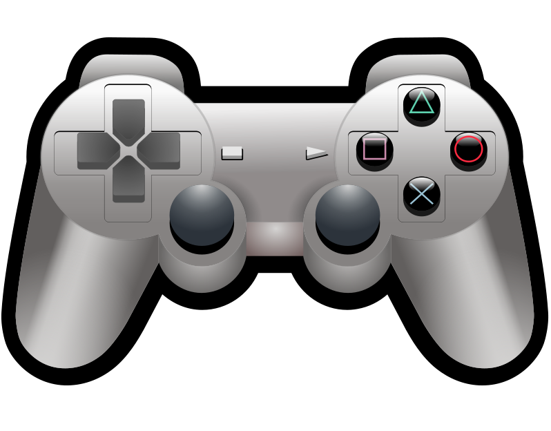 Free to Use & Public Domain Game Consoles Clip Art.