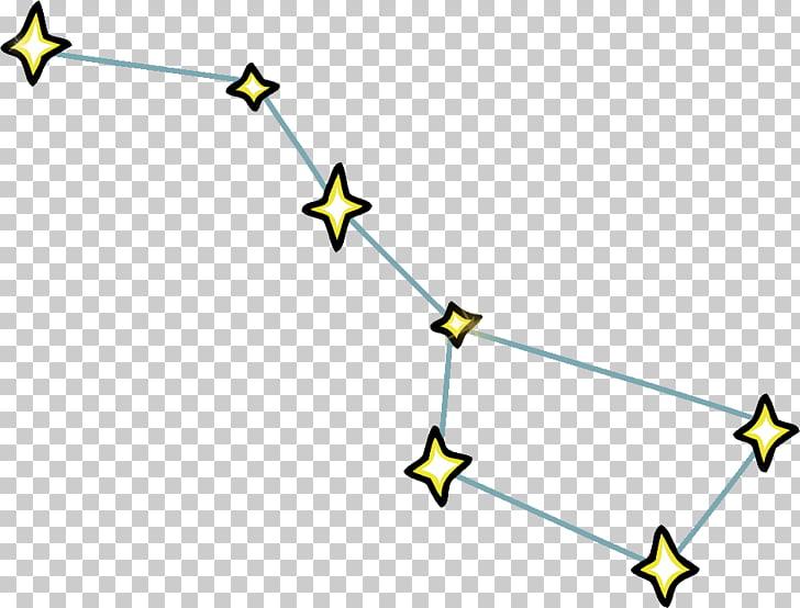Dipper Pines Big Dipper Ursa Major Constellation.