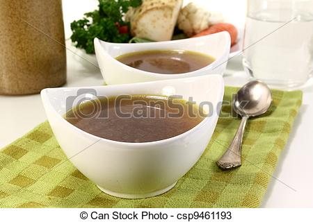 Stock Photos of Beef Consomme.