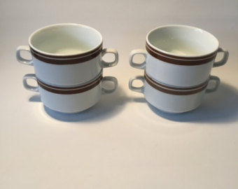Consomme cups.