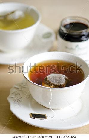 Tea Bag Cup Stock Photos, Royalty.