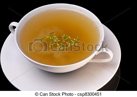 Stock Photography of chicken broth csp8300451.