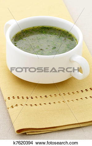 Stock Photo of mexican beef consomme k7620394.