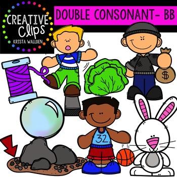 Double Consonant Clipart: BB {Creative Clips Clipart}.