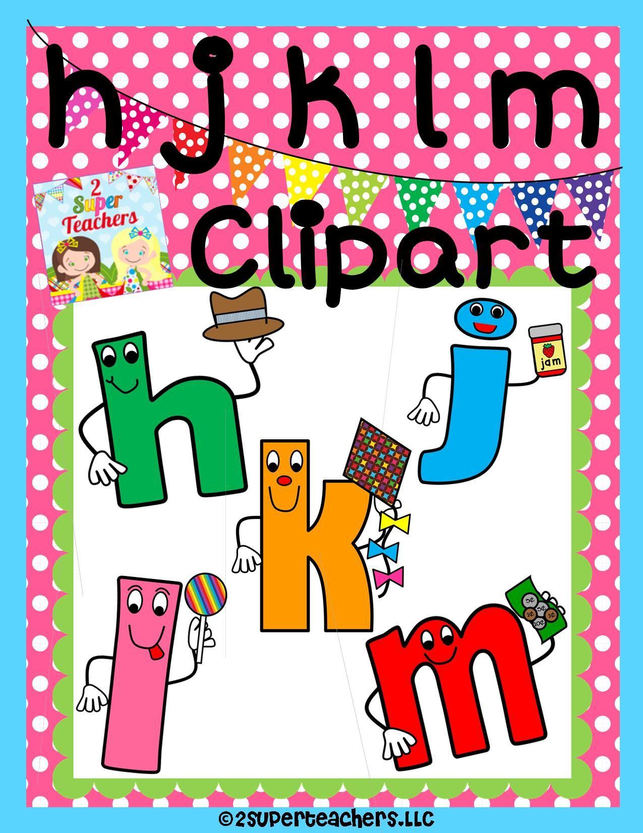 Our next Clipart Set {hjklm consonants} is ready! 2 Super.