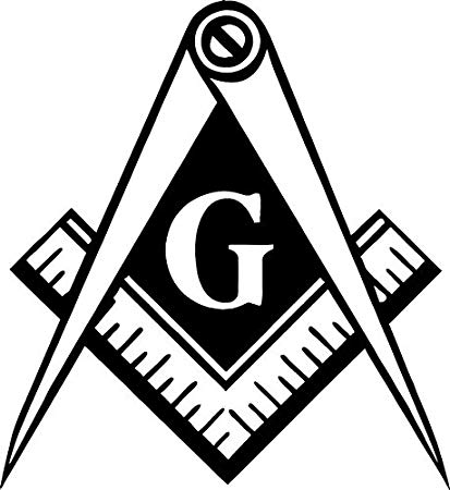 Masonic Government Illumanati Logo Vinyl Decal sticker conspiracy theories  For Car Windows (5.5
