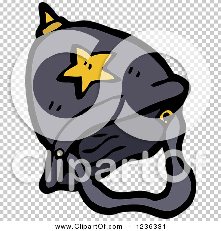 Clipart of a Constable Hat.