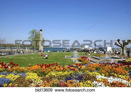 Stock Photograph of Germany, Konstanz, Constance at the lake.