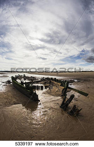 Picture of Shipwreck Constance Ellen; South Shields, Tyne and Wear.