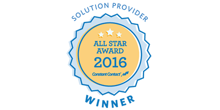 2016 Constant Contact Solution Provider All Star Award.