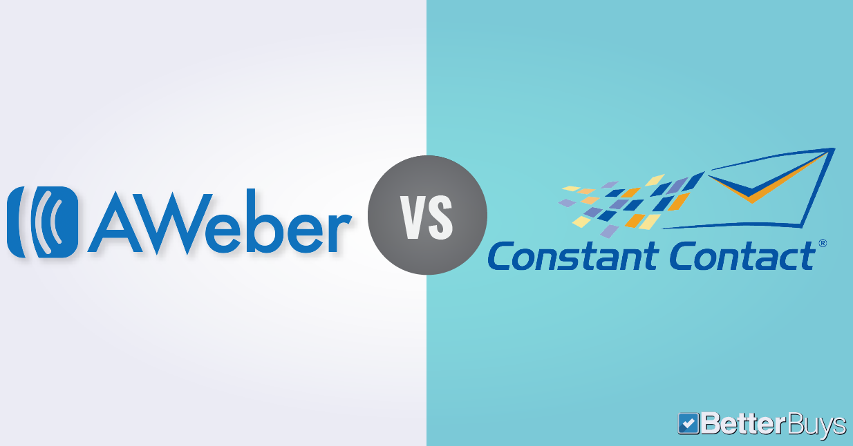 AWeber vs Constant Contact: Comparing Features and Pricing.