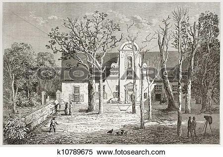 Stock Illustration of Groot Constantia k10789675.