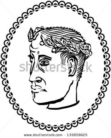 Roman Emperor Constantine Stock Photos, Royalty.