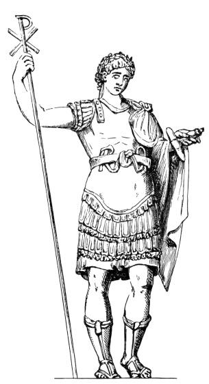 Constantine clipart.