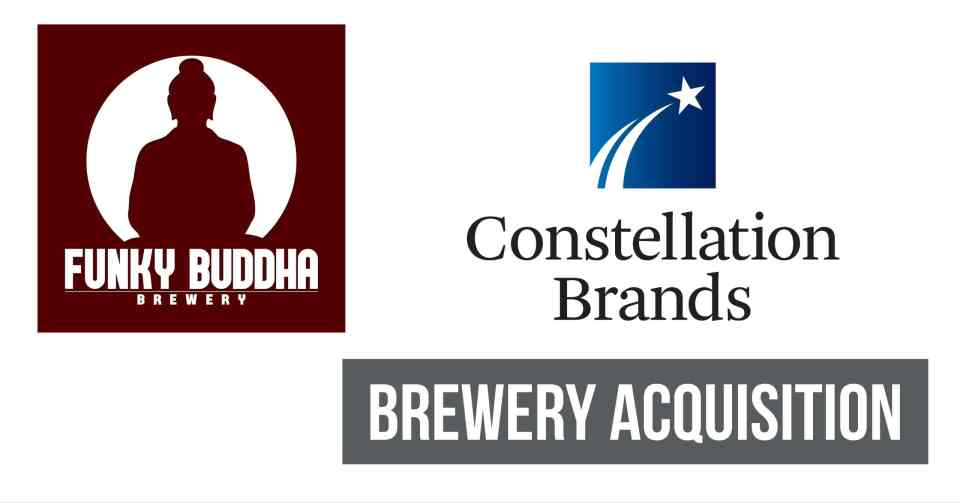Funky Buddha acquired by Constellation Brands.