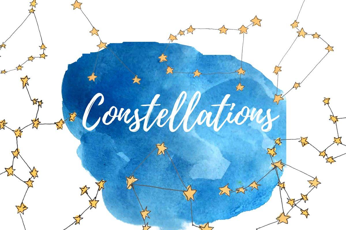 Constellation Clipart.