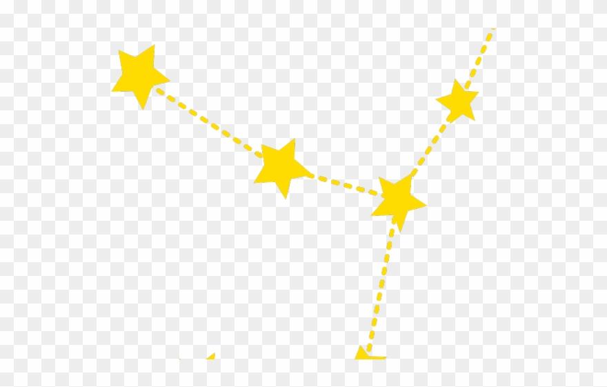 Virgo Clipart Star Constellation.