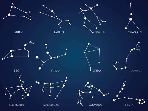 Best Constellation Illustrations, Royalty.