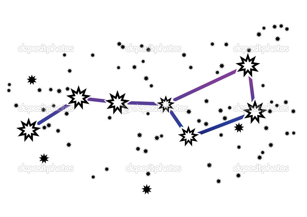 Constellation clip art.