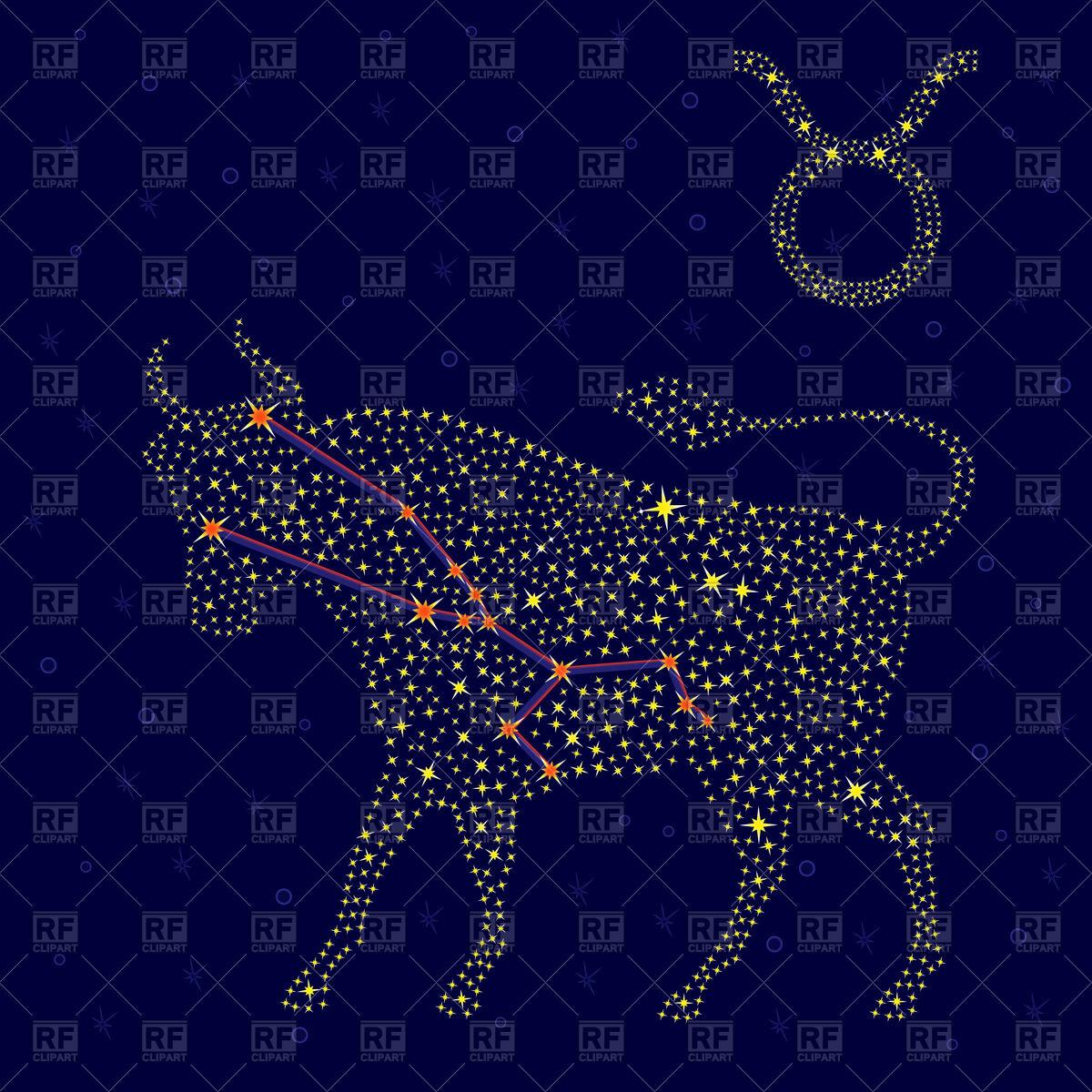 Zodiac sign Taurus.