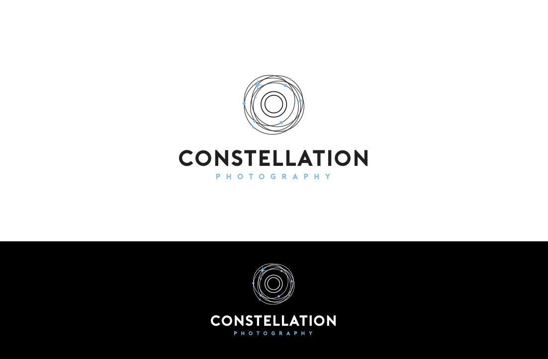 Modern, Upmarket, Photographer Logo Design for Constellation.