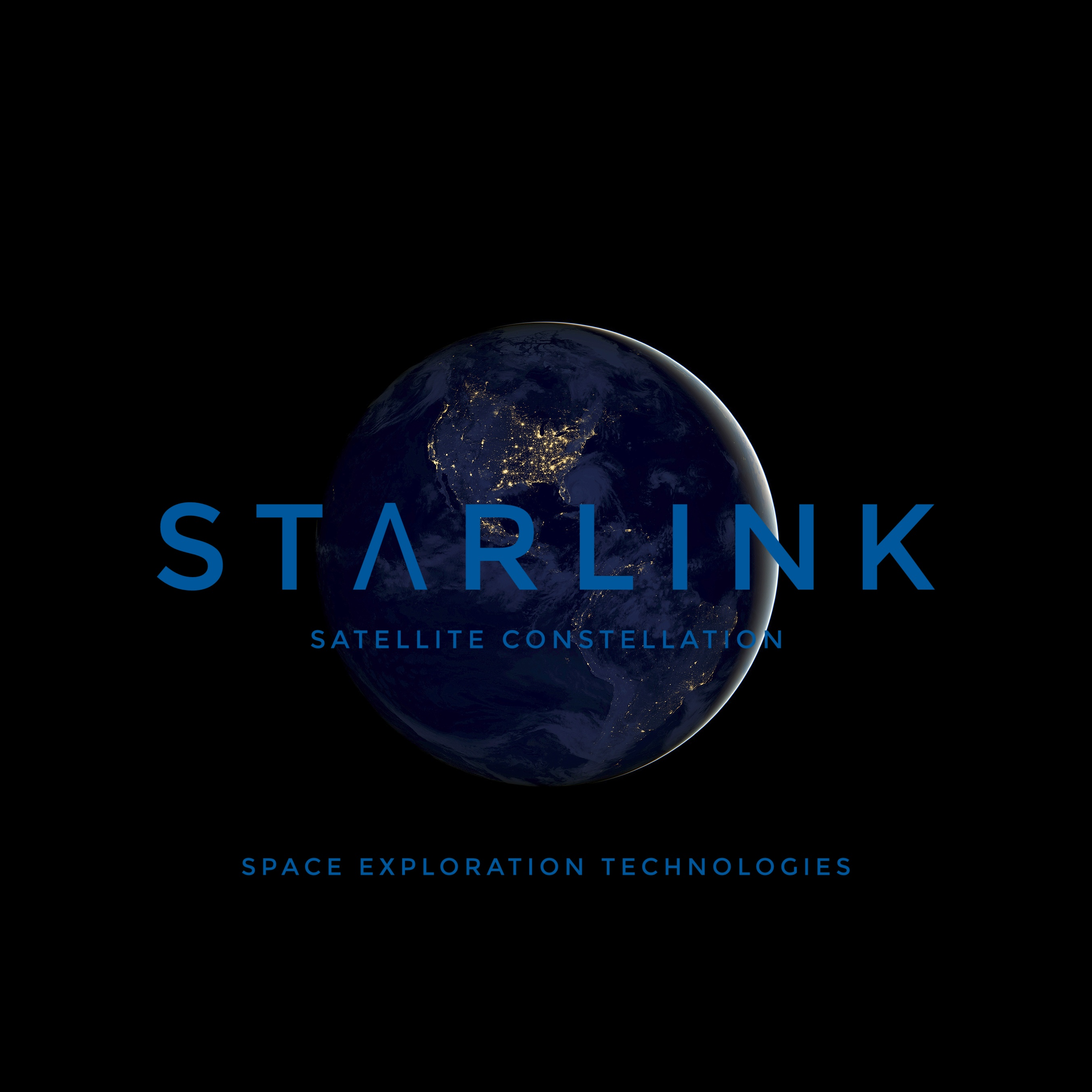 Made an Unofficial logo for the Starlink Constellation.