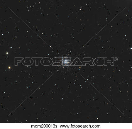 Stock Images of Messier 53, globular cluster in the Coma Berenices.