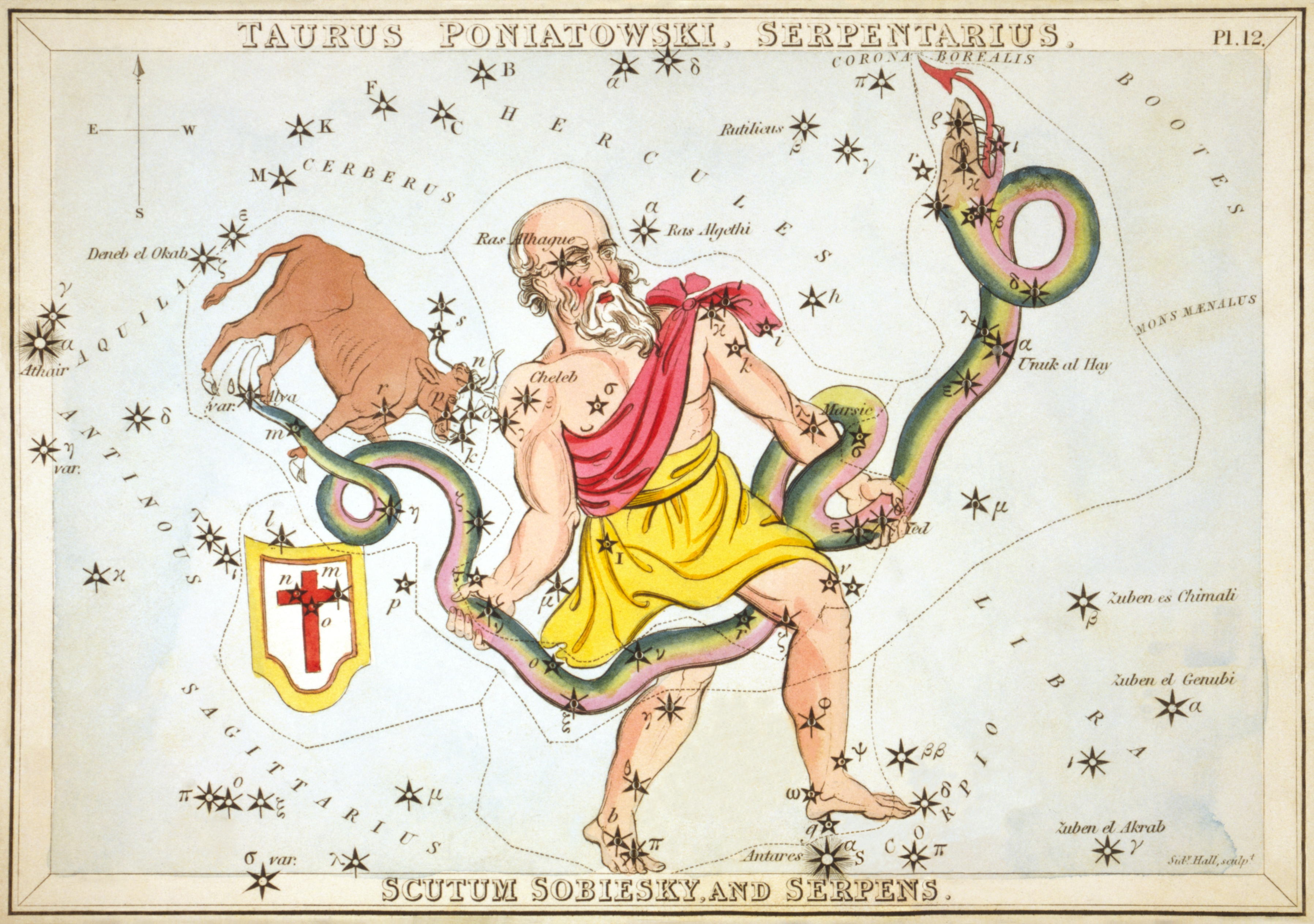 What Does Ophiuchus Look Like? The 13th Zodiac Sign.