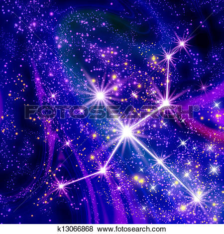 Stock Illustration of Constellation Swan k13066868.