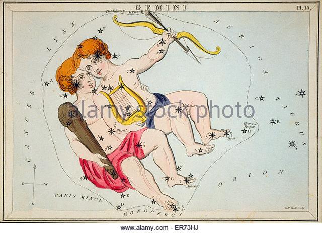 Gemini Constellation Stock Photos & Gemini Constellation Stock.