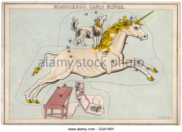 Unicorn Constellation Stock Photos & Unicorn Constellation Stock.