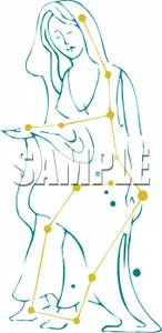 Constellation_Virgo_the_Virgin_Royalty_Free_Clipart_Picture_090630.
