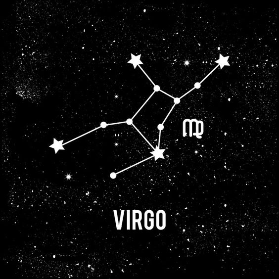 Virgo constellation ♍.