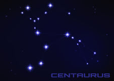 Constellation The Centaur Royalty Free Stock Photography.