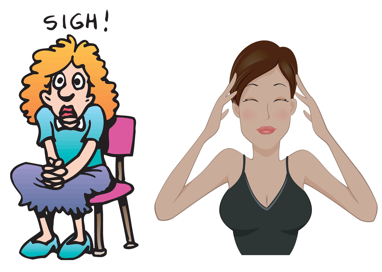 Anxiety clipart consternation, Anxiety consternation.