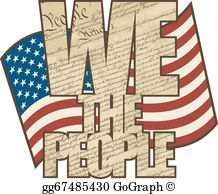 United States Constitution Clip Art.
