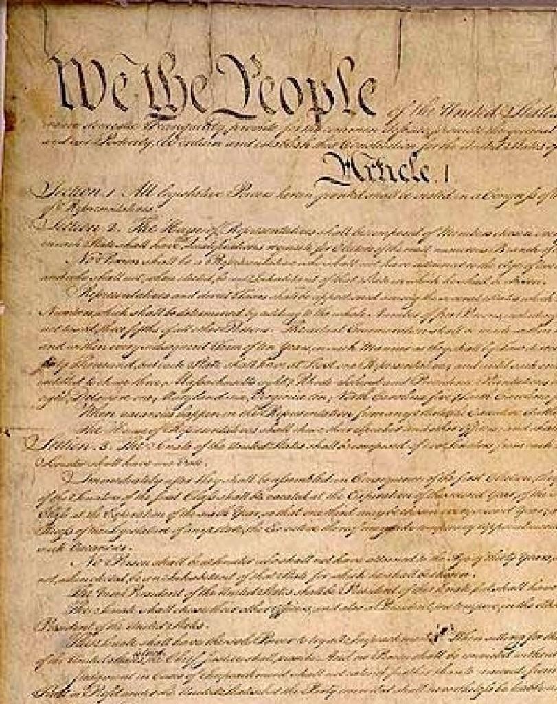 Us constitution clip art.