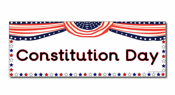 Constitution Day Banner Image.