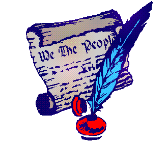 The Us Constitution Clipart.