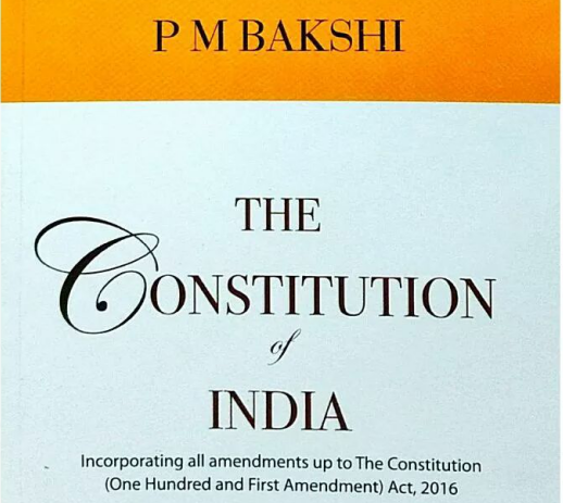THE CONSTITUTION OF INDIA BY PM BAKSHI PDF DOWNLOAD.