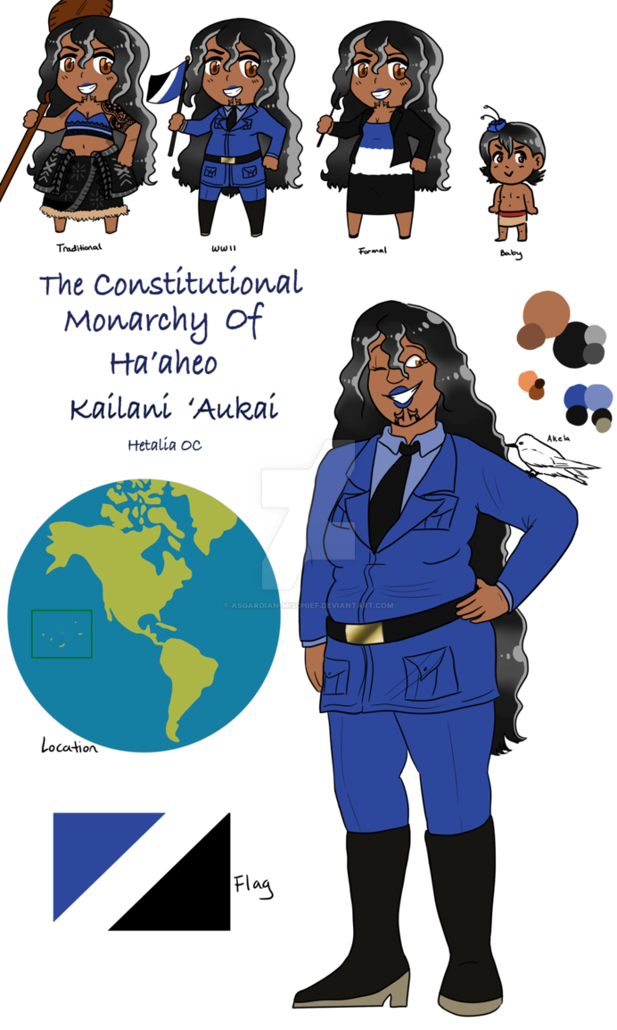 The Constitutional Monarchy of Ha'aheo by Asgardian.