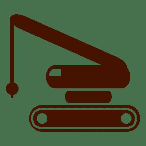 Icono de transporte de construcción.