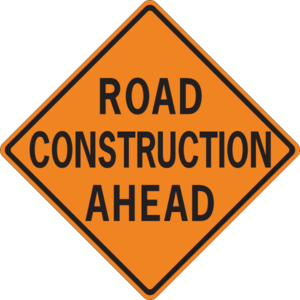 Road Construction Free Clipart.