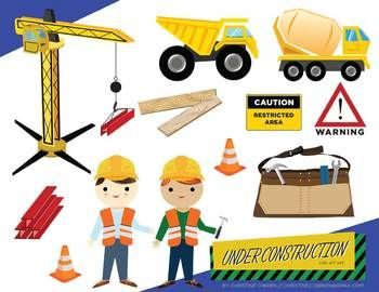 Construction Theme Clipart.