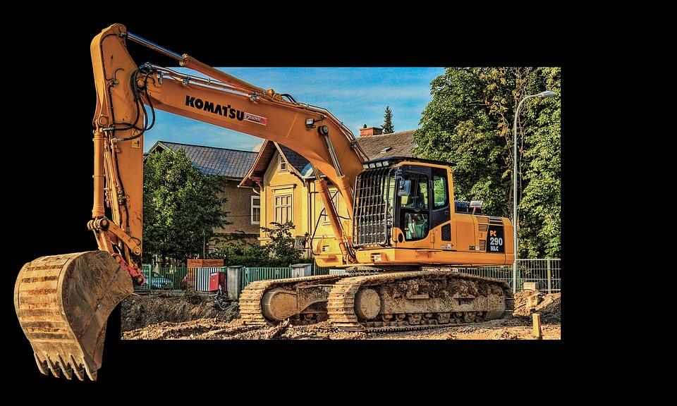 Free photo Site Vehicle Construction Work Excavators.