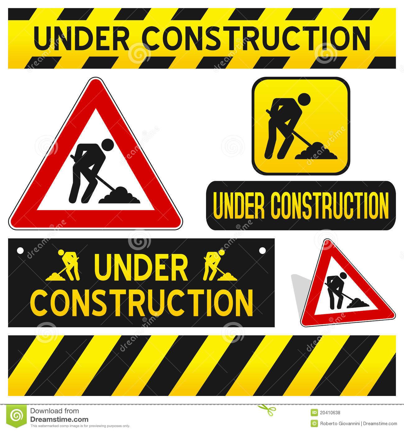 Construction Stock Illustrations.