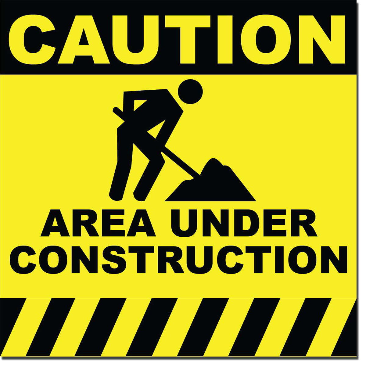 picture regarding Printable Construction Signs named Framework Symptoms track record