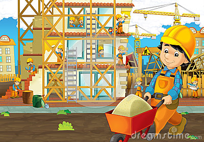 Construction area clipart.
